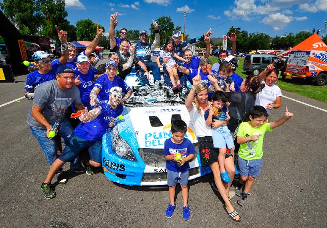 Rally Argentino - Villa Carlos Paz 2019 - Final - Miguel Baldoni - Chevrolet Agile MR - Campeon