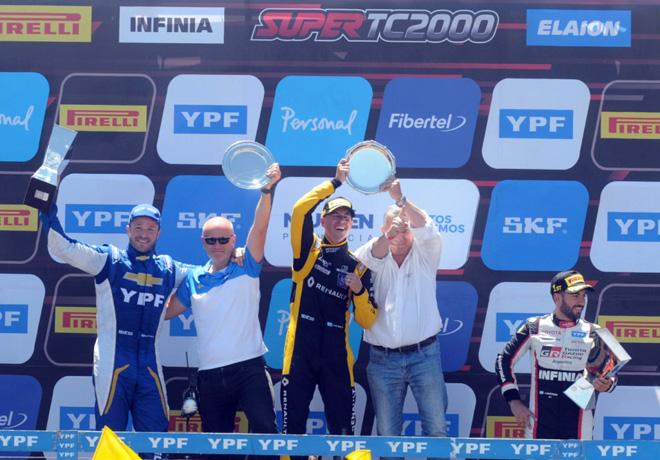 STC2000 - Neuquen 2019 - Carrera - Agustin Canapino - Leonel Pernia - Julian Santero en el Podio