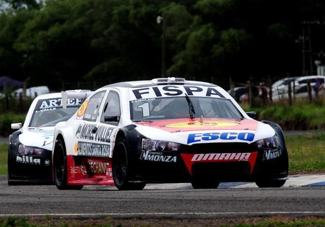 Top Race - 9 de Julio 2019 - Carrera - Franco Girolami - Mitsubishi Lancer