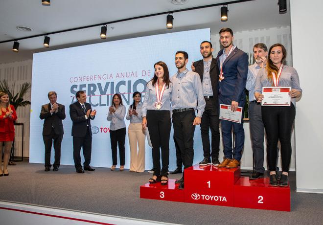 Toyota Argentina reconocio a los mejores asesores de venta tecnicos y asesores de servicio de 2019 4