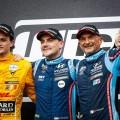 WTCR - Sepang - Malasia 2019 - Carrera 1 - Aurelien Panis - Norbert Michelisz - Gabriele Tarquini en el Podio