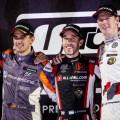 WTCR - Sepang - Malasia 2019 - Carrera 2 - Mikel Azcona - Esteban Guerrieri - Johan Kristoffersson en el Podio