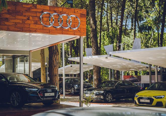 Audi esta presente en Carilo