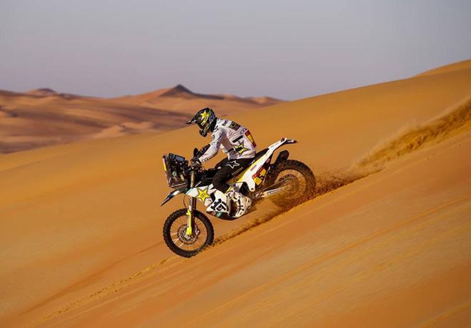 Dakar 2020 - Etapa 11 - Pablo Quintanilla - Husqvarna