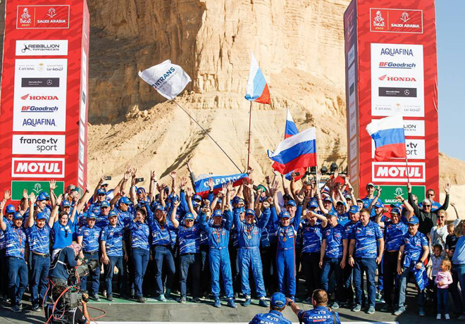 Dakar 2020 - Etapa 12 - Final - Andrey Karginov - Kamaz