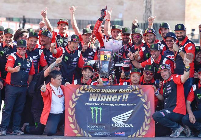 Dakar 2020 - Etapa 12 - Final - Ricky Brabec - Honda