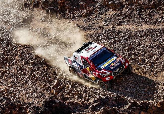 Dakar 2020 - Etapa 2 - Giniel de Villiers - Toyota Hilux