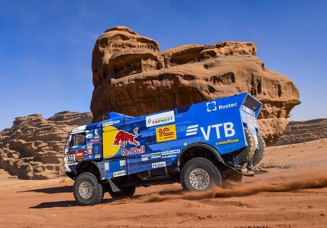 Dakar 2020 - Etapa 3 - Andrey Karginov - Kamaz