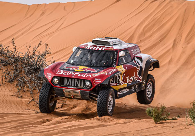 Dakar 2020 - Etapa 6 - Stephane Peterhansel - MINI