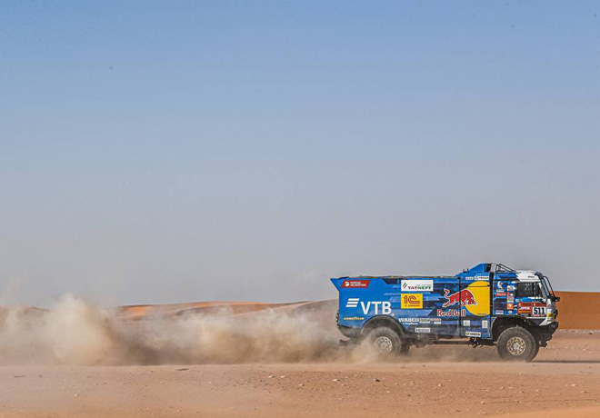 Dakar 2020 - Etapa 9 - Andrey Karginov - Kamaz