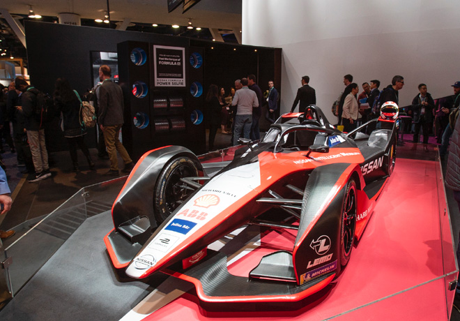 Los asistentes al CES podran correr en el simulador de Formula E de Nissan 1