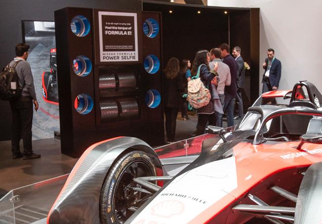 Los asistentes al CES podran correr en el simulador de Formula E de Nissan 3