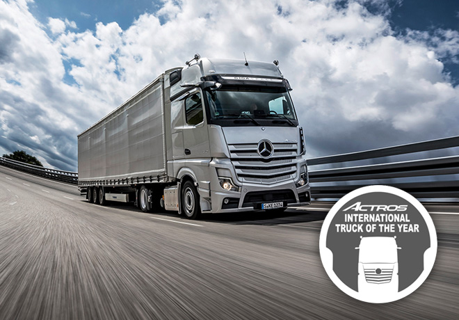 Mercedes-Benz Actros - Iternational Truck of the Year