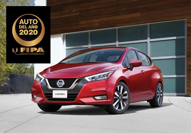 Nissan Versa - FIPA - Auto del Anio 2020