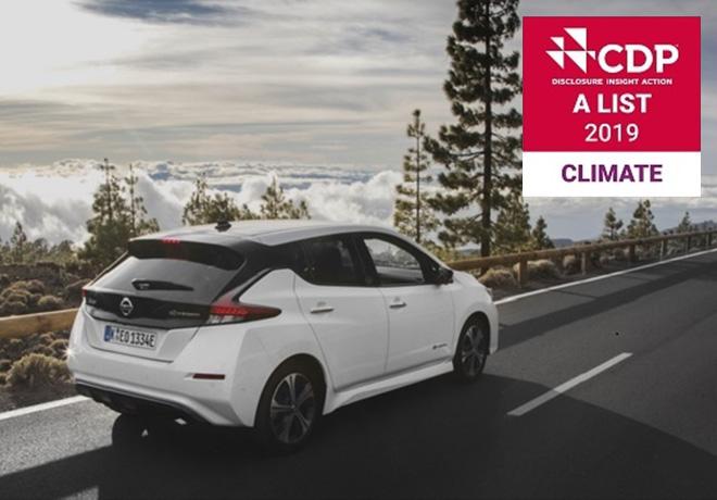 Nissan obtiene el reconocimiento de la CDP por su liderazgo contra el cambio climatico
