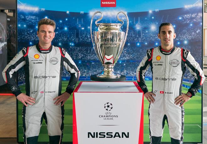 Nissan patrocinador global de la Formula E y de la UEFA Champions League