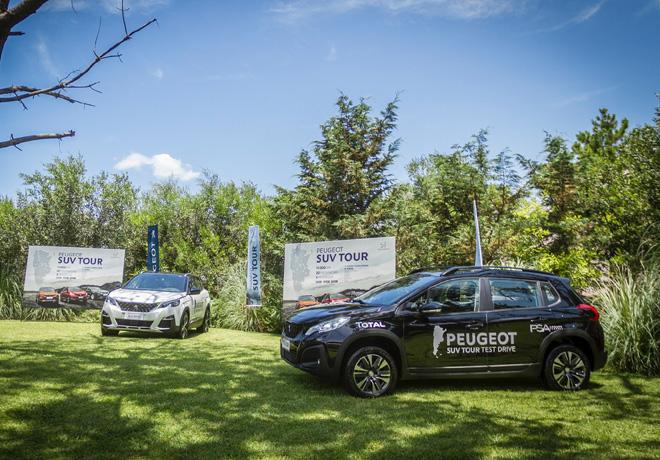TOTAL junto a Peugeot en el SUV Tour