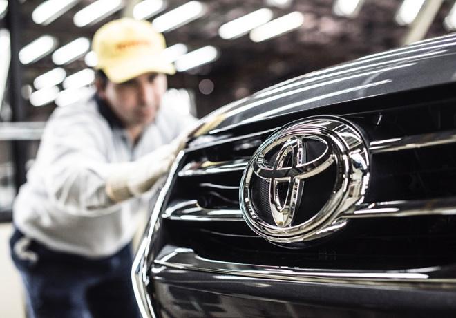 Toyota lidero la produccion y la exportacion automotriz