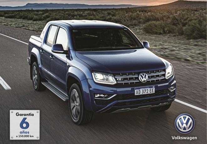 VW Amarok - Garantia 6 anios o 150 mil km