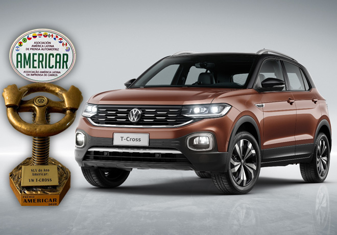 VW T-Cross es elegido mejor SUV en America Latina