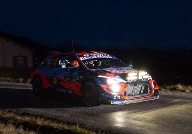 WRC - Monaco 2020 - Dia 1 - Thierry Neuville - Hyundai i20 WRC