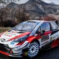 WRC - Monaco 2020 - Dia 2 - Sebastien Ogier - Toyota Yaris WRC