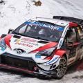 WRC - Monaco 2020 - Dia 3 - Elfyn Evans - Toyota Yaris WRC