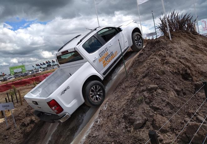 Chevrolet exhibira la potencia y desempeno de sus pick ups en Expoagro