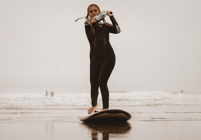 Ford unio el golf y el surf en Mar del Plata - Coco Cianciarulo