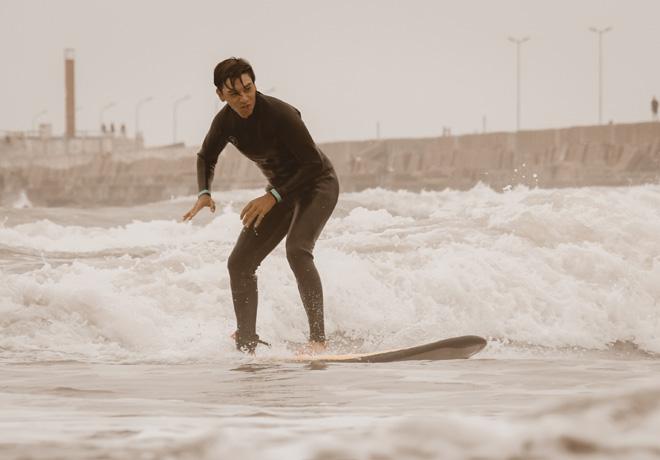 Ford unio el golf y el surf en Mar del Plata - Pochi Montenegro