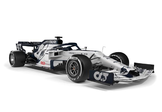 Formula 1 - AlphaTauri AT01 3