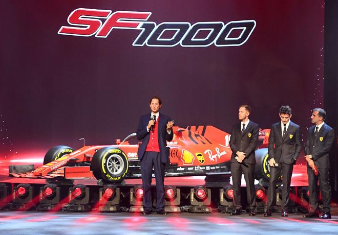 Formula 1 - Ferrari SF1000 2