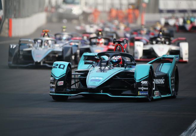 Formula E - Ciudad de Mexico - Mexico 2020 - Carrera - Mitch Evans - Jaguar