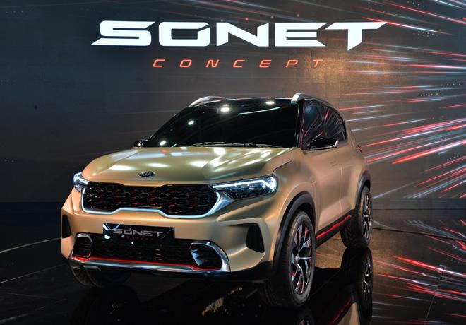 Kia Sonet Concept 1