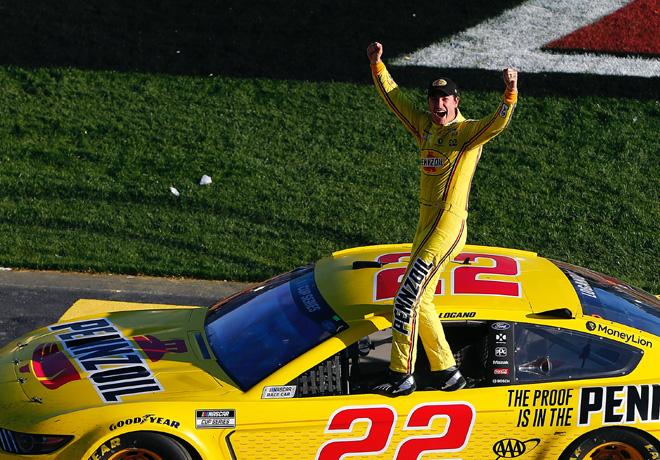 NASCAR - Las Vegas 2020 - Joey Logano - Ford Mustang