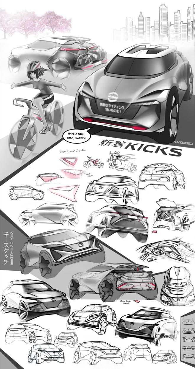Nissan muestra los aspectos que inspiran el diseno de sus vehiculos en America Latina
