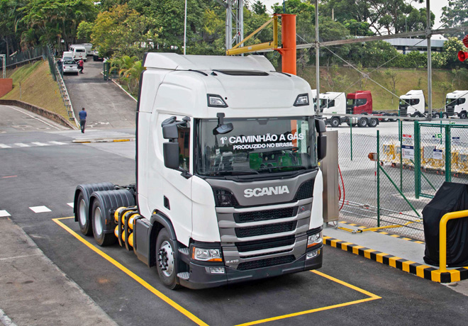 Scania apuesta por el gas y lleva su produccion a Latinoamerica 1