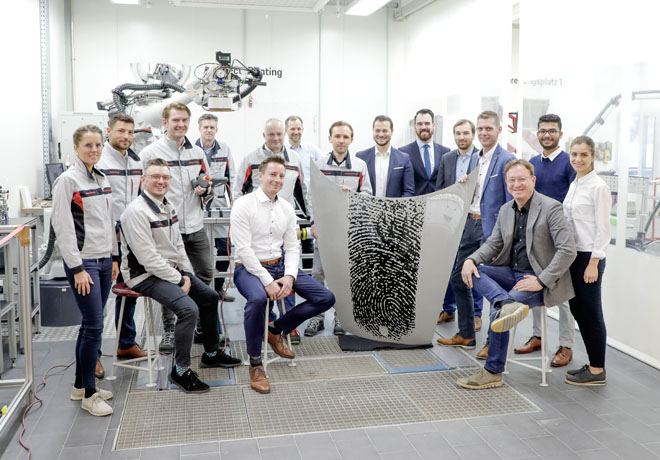 Un Porsche tan personal como tu propia huella digital 2