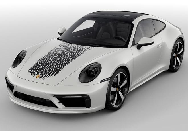 Un Porsche tan personal como tu propia huella digital 3