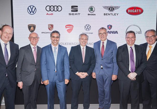 Volkswagen Group confirma sus inversiones por 800 millones de dolares en Argentina