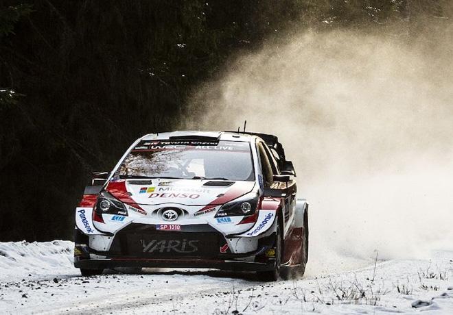 WRC - Suecia 2020 - Dia 1 - Elfyn Evans - Toyota Yaris WRC
