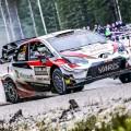 WRC - Suecia 2020 - Dia 2 - Elfyn Evans - Toyota Yaris WRC