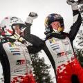 WRC - Suecia 2020 - Final - Elfyn Evans en el Podio