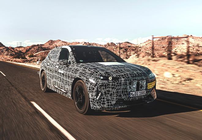 El BMW iNEXT completa su fase de desarrollo a altas temperaturas.