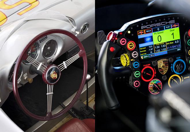 Porsche: De un simple volante a un centro de control multifuncional en solo 20 años.
