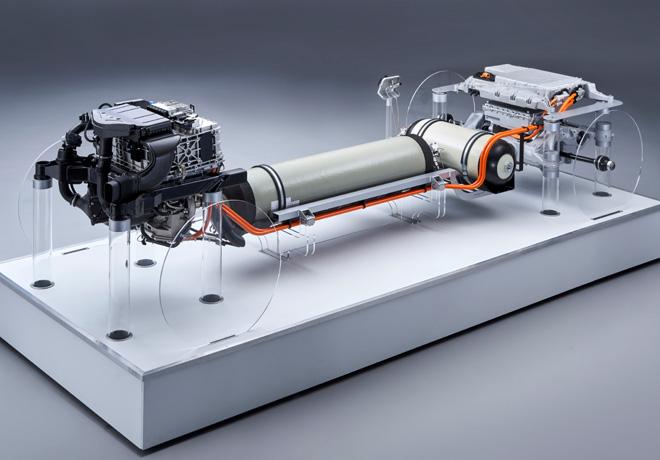 El tren motriz del BMW i Hydrogen NEXT: BMW Group reafirma su compromiso continuo con la tecnología de celdas de combustible de hidrógeno.