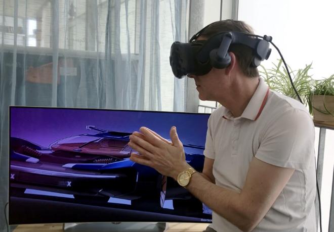 Ford usa la realidad virtual para el diseño de sus vehículos, incluida una versión única para su equipo de Esports, Fordzilla.