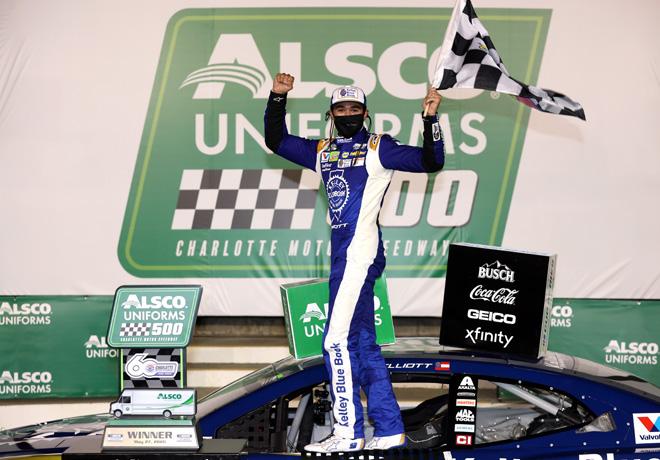 NASCAR en Charlotte – Carrera: Chase Elliott consiguió su primera victoria de la temporada.