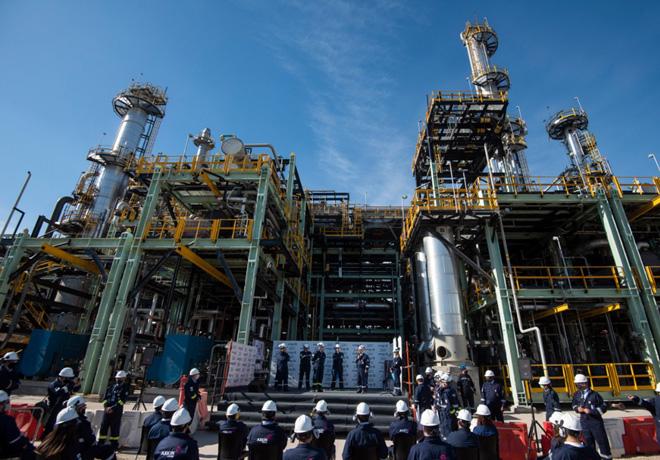 AXION energy puso en marcha la planta que producirá el diesel de mayor calidad del mundo.