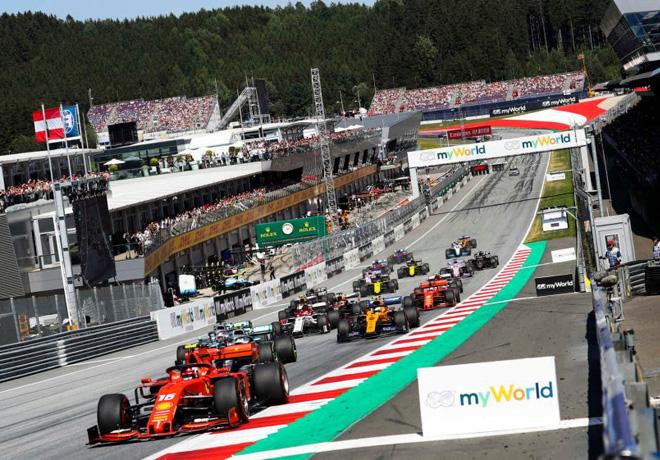 Fórmula 1: Se confirmaron las primeras 8 carreras del calendario 2020, comenzando con la doble fecha en Austria.